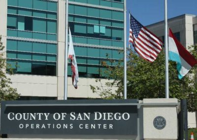 Country of San Diego Entrance