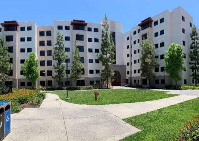 SDSU Tacuba Residence Hall Distance